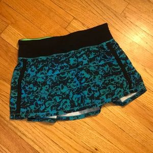 Lululemon tennis or running skirt